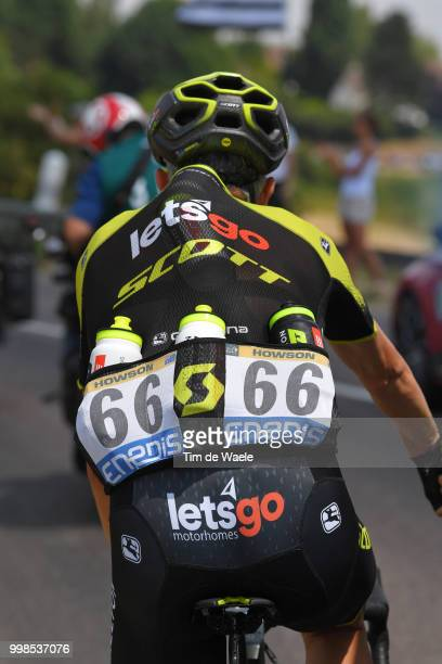 Damien Howson of Australia and Team Mitchelton-Scott / Feed Zone / Bottle / Car / during the 105th Tour de France 2018, Stage 8 a 181km stage from...