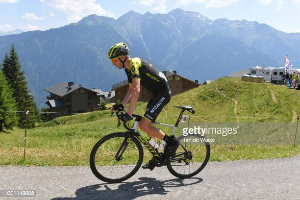 Damien Howson of Australia and Team Mitchelton-Scott / Landscape / Mountains / during the 105th Tour de France 2018, Stage 11 a 108,5km stage from...