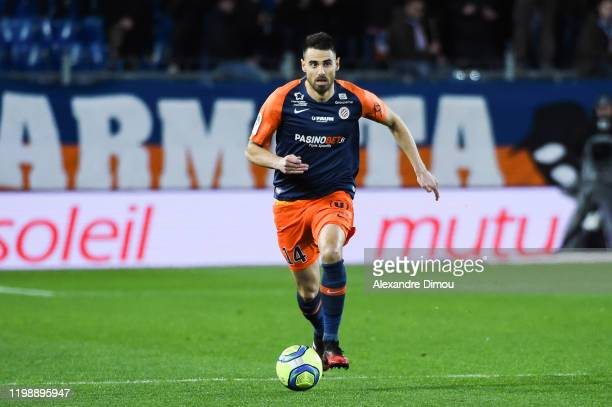 Damien LE TALLEC of Montpellier during the Ligue 1 match between Montpellier and Metz at Stade de la Mosson on February 5, 2020 in Montpellier,...