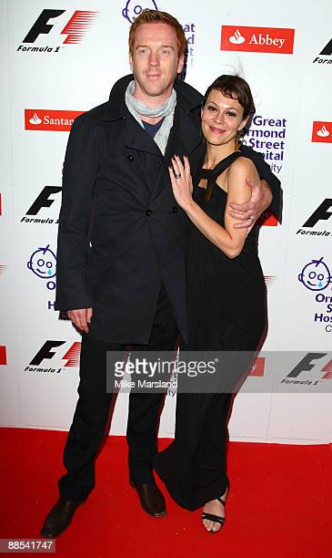Damien Lewis and guest attend the F1 Party, in aid of Great Ormond Street at Victoria & Albert Museum on June 17, 2009 in London, England.