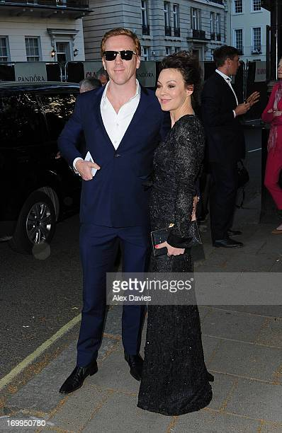 Damien Lewis and Helen Mccory arrives for the Women's Glamour Awards 2013 Arrivals on June 4 2013 in London England