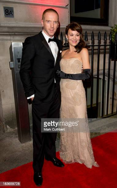 Damien Lewis and Helen McCrory attend a gala dinner hosted by the BFI ahead of the London Film Festival at 8 Northumberland Avenue on October 8 2013...