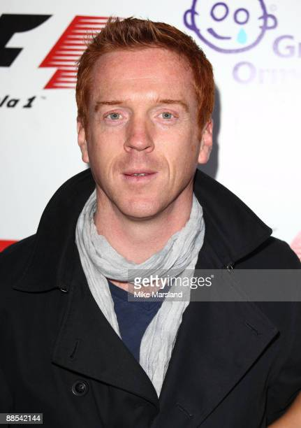 Damien Lewis attends the F1 Party, in aid of Great Ormond Street at Victoria & Albert Museum on June 17, 2009 in London, England.