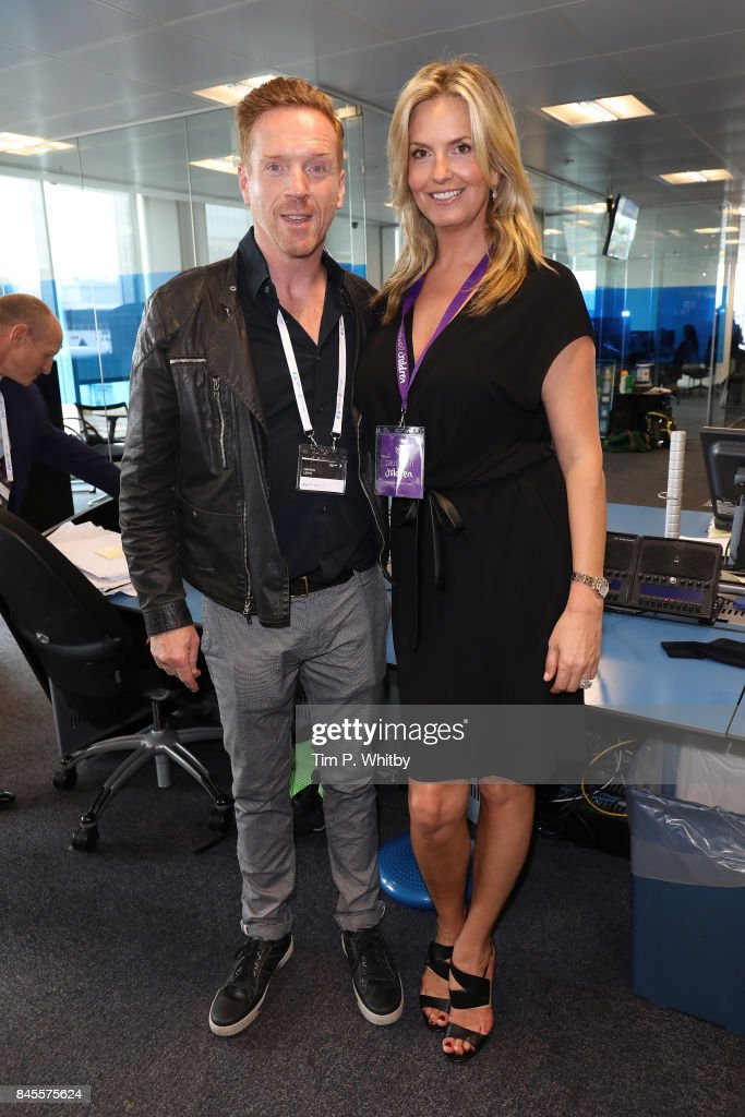 Damien Lewis representing Sohana and Penny Lancaster, representing Caudwell,Êattend GFI Charity Day 2017 on September 11, 2017 in London, England.