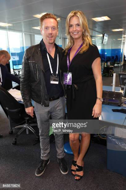Damien Lewis representing Sohana and Penny Lancaster representing CaudwellÊattend GFI Charity Day 2017 on September 11 2017 in London England