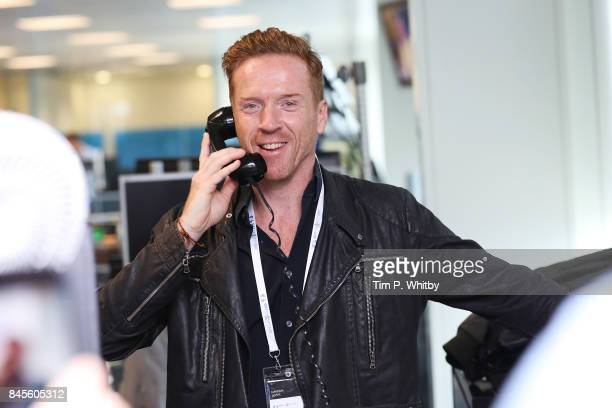 Damien Lewis representing Sohana,Êmakes a trade at GFI Charity Day 2017 on September 11, 2017 in London, England.