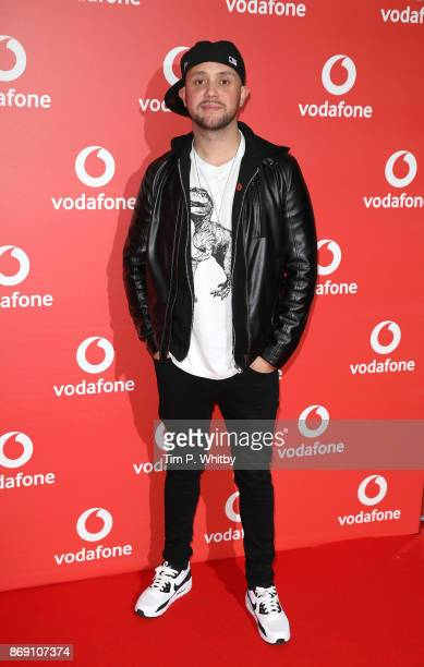 Damien O'Brien attends the Vodafone Passes Launch held at The Bankside Vaults on November 1 2017 in London England