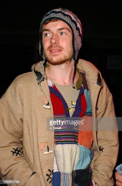 Damien Rice backstage during KCRW Presents A Sounds Eclectic Evening at Universal Amphitheater in Universal City California United States