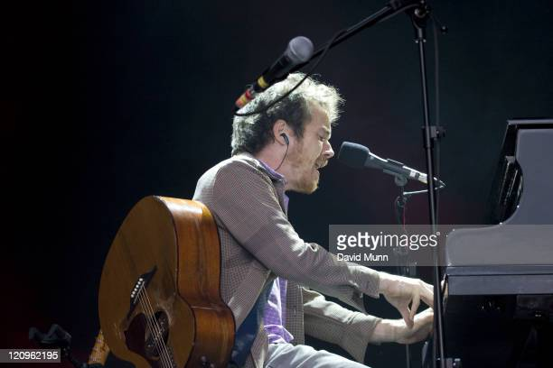 Damien Rice during Damien Rice Performs at the Peace and Love Festival in Sweden June 28 2007 in Borlange Sweden