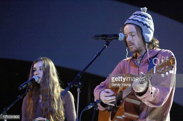 Damien Rice during The Nobel Peace Prize 2005 Concert Rehearsals at Oslo Spektrum in Oslo Norway