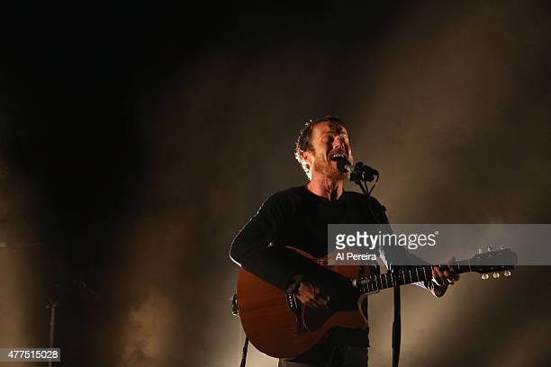 Damien Rice performs a Benefit Concert for Celebrate Brooklyn at Prospect Park Bandshell on June 17 2015 in the Brooklyn borough of New York City