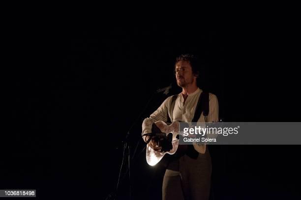 Damien Rice performs at Circo Price on September 20 2018 in Madrid Spain