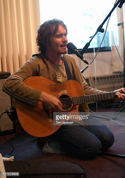Damien Rice performs at KBCO Studio C in Boulder CO
