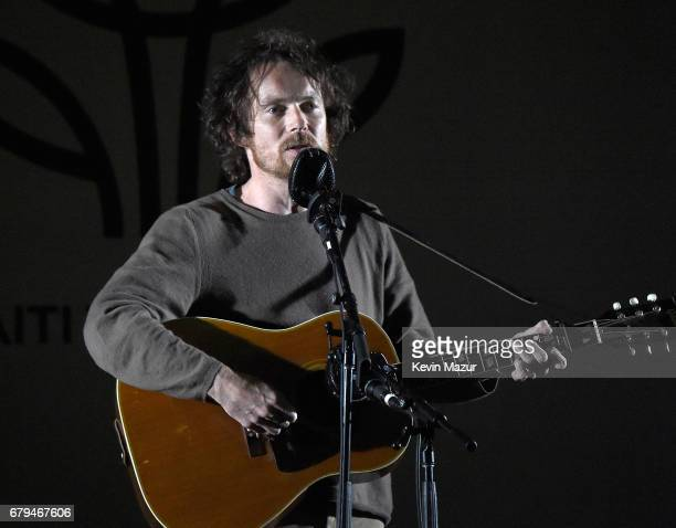 Damien Rice performs onstage during Sean Penn Friends HAITI TAKES ROOT A Benefit Dinner Auction to Reforest Rebuild Haiti to Support J/P Haitian...