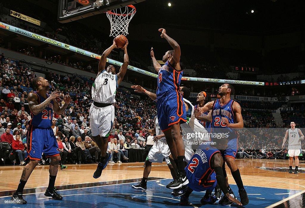 New York Knicks v Minnesota Timberwolves