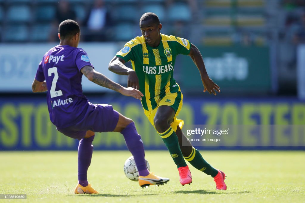 Damil Dankerlui Of Fc Groningen Lassana Faye Of Ado Den Haag During News Photo Getty Images