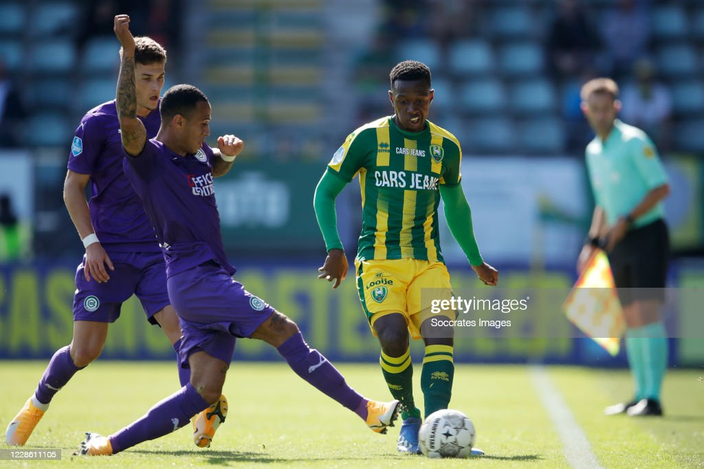 Damil Dankerlui Of Fc Groningen Shaquille Pinas Of Ado Den Haag News Photo Getty Images