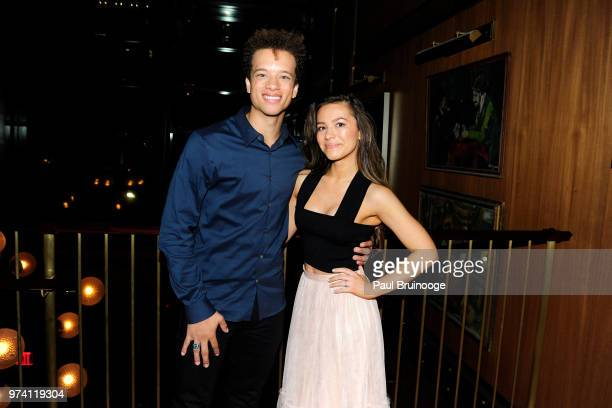 Damion Gillespie and Grace Aki attend MarVista Entertainment And Parkside Pictures With The Cinema Society Host The After Party For 'The Year Of...
