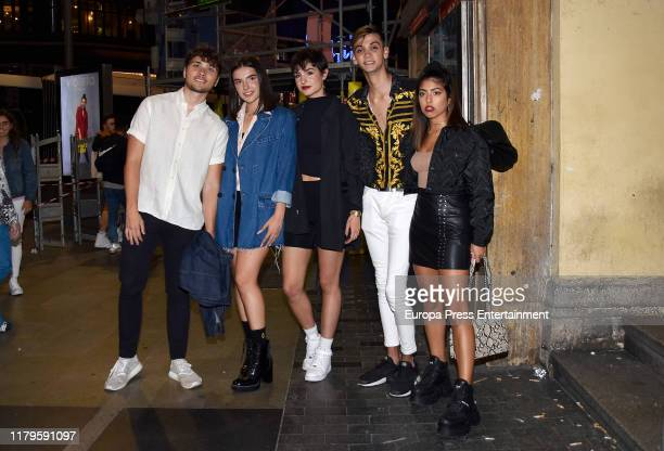 Damion Marta Natalia Lacunza Dave and Africa attend a party to celebrate the Paco Leon's 45th birthday on October 04 2019 in Madrid Spain