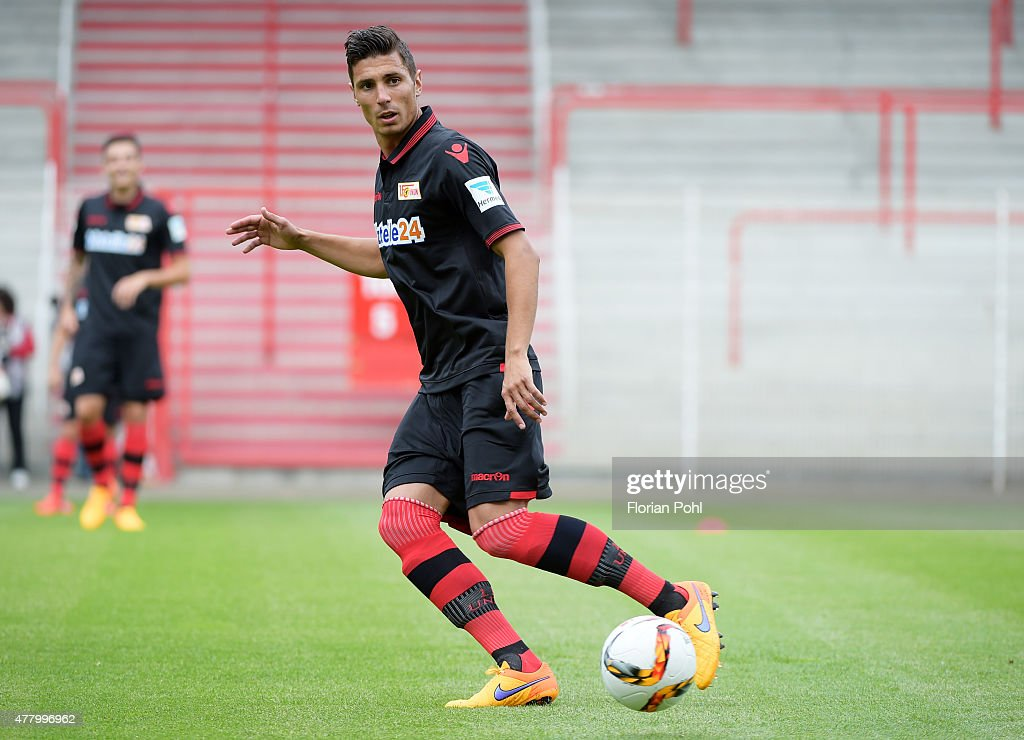 Damir Kreilach of 1 FC Union Berlin during the training of Union Berlin on June 21, 2015 in Berlin, Germany.