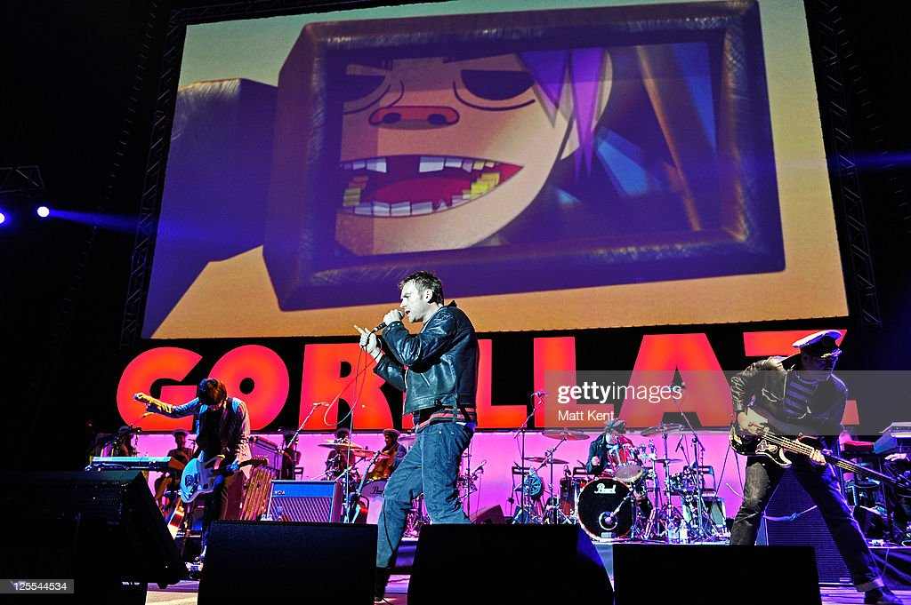 Gorillaz Perform in London