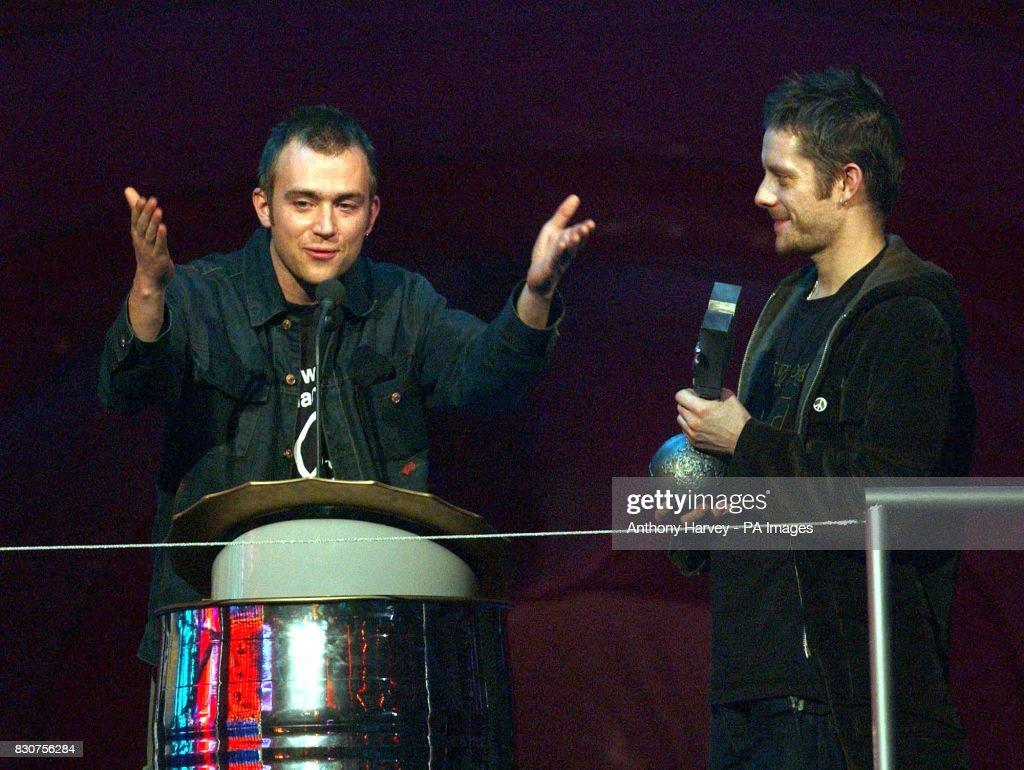 MTV Awards Gorillaz : News Photo