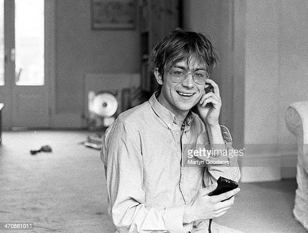 Damon Albarn at record producer Stephen Street's house London United Kingdom 1995