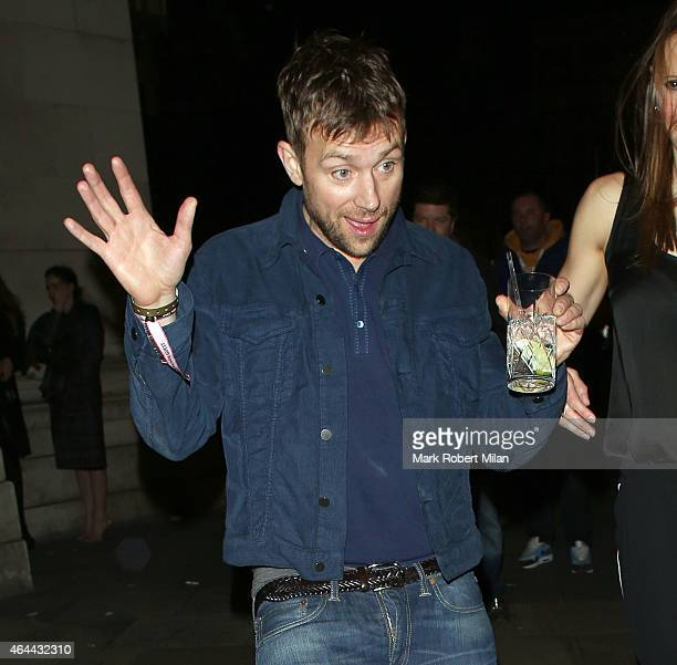 Damon Albarn attending the Warner Music post BRIT awards party at The Freemasons Hall on February 25 2015 in London England