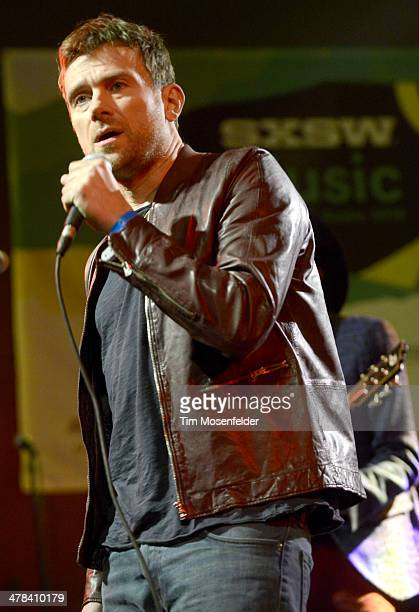 Damon Albarn performs as part of the NPR showcase at Stubbs BarBQue on March 12 2014 in Austin Texas
