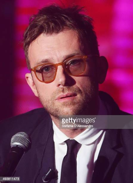 Damon Albarn performs at 'Che Tempo Che Fa' TV Show on May 25 2014 in Milan Italy