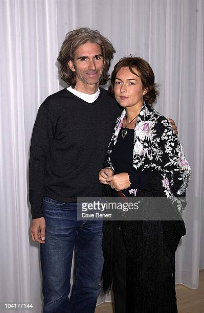 Damon And Georgie Hill, The Third Annual Sargent Cancer Care Party, Was Held At The Sanderson Hotel, London, Hosted By Lady Helen Taylor And Ian...