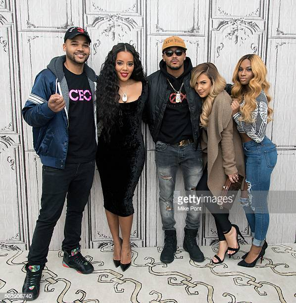 Damon 'Boogie' Dash Angela Simmons Romeo Miller Kristina DeBarge and Egypt Criss attend the AOL BUILD Series 'Growing Up Hip Hop' at AOL Studios In...