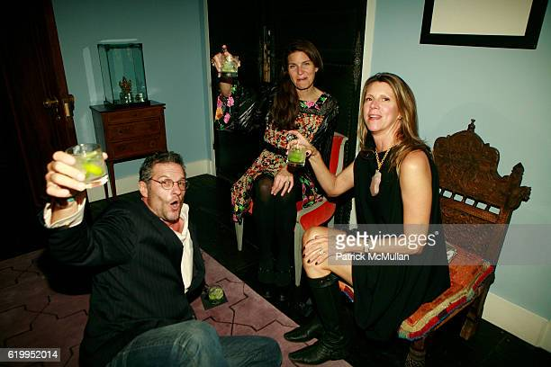 Damon Brandt Nancy Boas and Kim Guest attend Fashion Unites For Obama at Talavera Studios on October 10 2008 in New York City