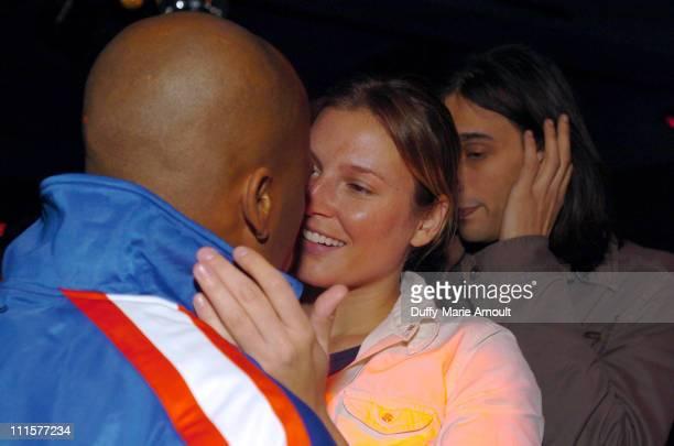 Damon Dash and Bridget Hall during Noel Ashman Rashida JonesDamon DashSamantha RonsonThursday Party at NA Night Club at NA Nightclub in New York City...