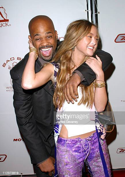 Damon Dash and Devon Aoki during P Diddy and Guy Oseary Host Their PostVMA Party at Cipriani's Presented by RBK Arrivals at Cipriani's in New York...