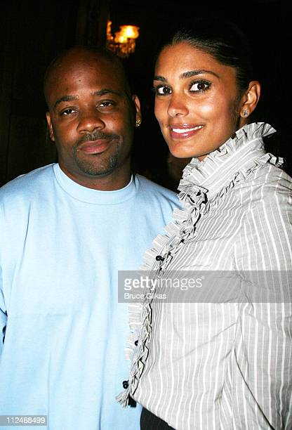 Damon Dash and his wife designer Rachel Roy during Ken Sunshine Consultants Celebrate LaChanze and Sarah Jones June 5 2006 at The National Arts Club...