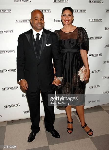 Damon Dash and Rachel Roy during 88 Keys for Skitch A Celebration of The Piano The 23rd Birthday Gala Benefiting The New York Pops at Carnegie Hall...
