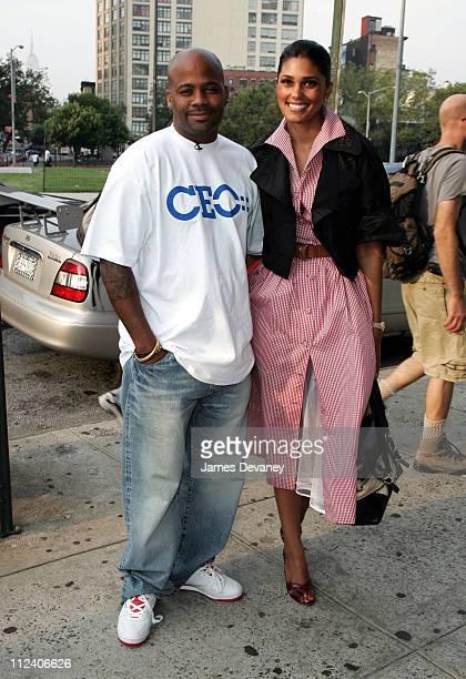 "Damon Dash and Rachel Roy during Tribeca Film Festival ""World Trade Center'' New York Screening at Tribeca Cinemas in New York City, New York, United..."