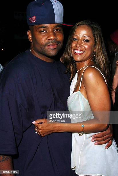 Damon Dash and Stacey Dash during America Magazine Party Hosted by Damon Dash at The Concorde in Hollywood California United States