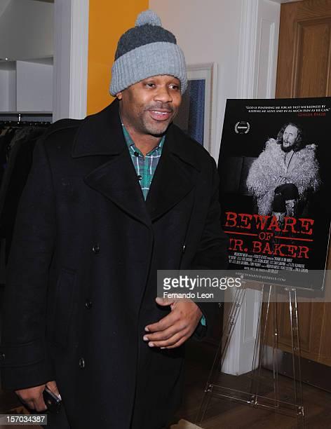 Damon Dash attends the Beware Of Mr Baker New York Screening at Crosby Street Hotel on November 27 2012 in New York City