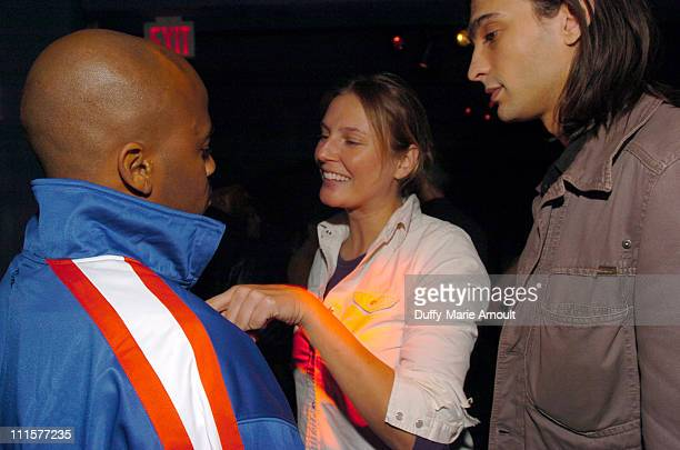 Damon Dash Bridget Hall and Chris Anthony during Noel Ashman Rashida JonesDamon DashSamantha RonsonThursday Party at NA Night Club at NA Nightclub in...