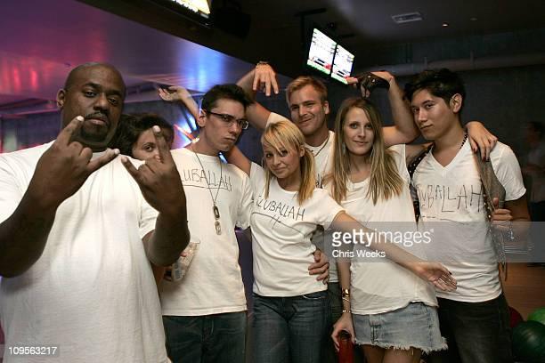 Damon Dash, DJ A.M., Nicole Richie, Chad Muska, Vanessa Traina and Carlos Lopez