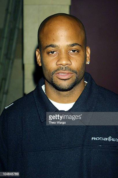 Damon Dash during RICA Benefit Dinner and Auction at Lotus in New York City in New York City New York United States