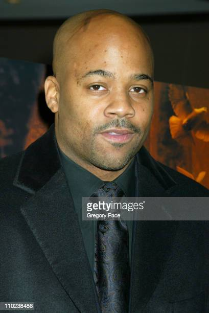 """Damon Dash, executive producer during """"The Woodsman"""" New York Cit y Premiere - Inside Arrivals at The Skirball Center in New York City, New York,..."""