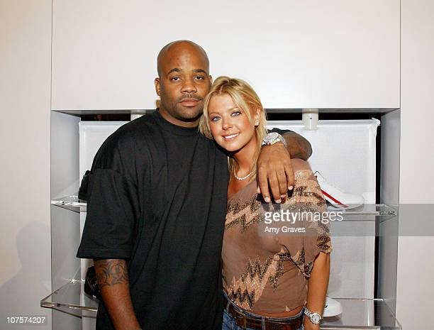 Damon Dash, founder and CEO of the Roc, and Tara Reid