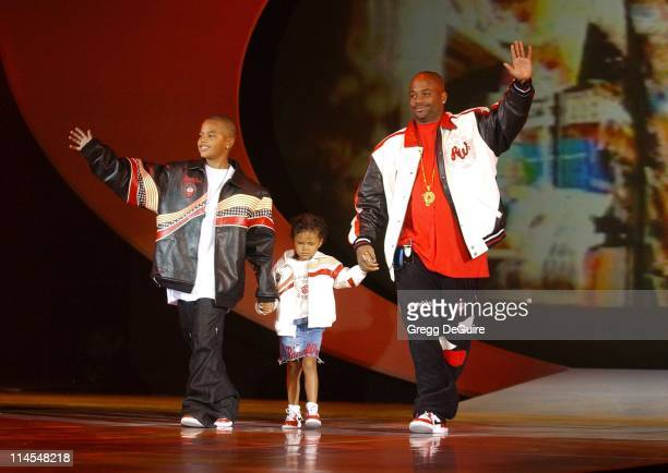 Damon Dash Rocawear CEO during 2003 Macy's and American Express Passport Gala Show at Barker Hanger in Santa Monica California United States