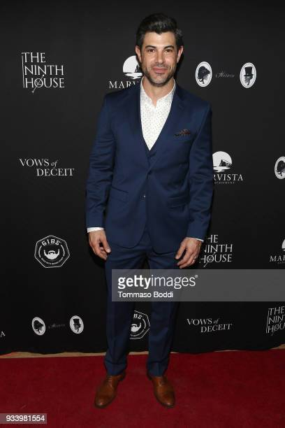 Damon Dayoub attends the Red Carpet screening of Vows of Deceit by The Ninth House and MarVista Entertainment on March 18 2018 in Sherman Oaks...