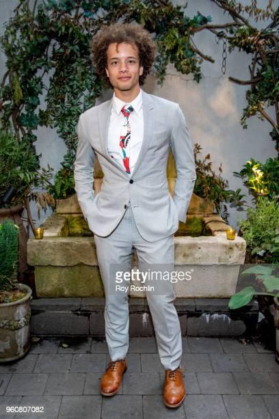 Damon Gillespie attends The Cinema Society with OWN host the 'Queen Sugar' garden cocktail party at Laduree Soho on May 20 2018 in New York City