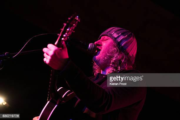Damon Gough, aka Badly Drawn Boy, performs at The Bowery on December 18, 2016 in Dublin, Ireland