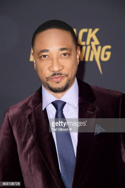 Damon Gupton attends the 'Black Lightning' World Premiere at National Museum Of African American History Culture on January 13 2018 in Washington DC